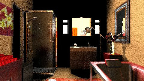 Her Majestys Bathrm pt 2 - Glamour - Bathroom  - by allday08