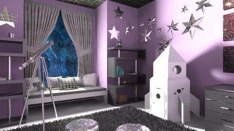Science Girls Bedroom - Kids room  - by Jessicam149