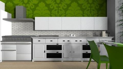 Apartment Kitchen - Modern - Kitchen  - by yourjieee