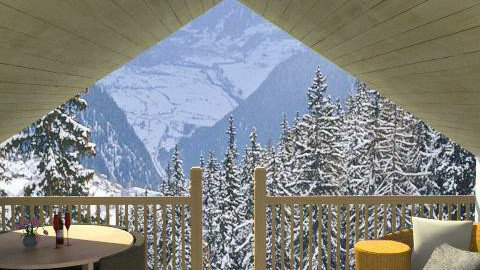 chalet2 - Country - Living room  - by leendave