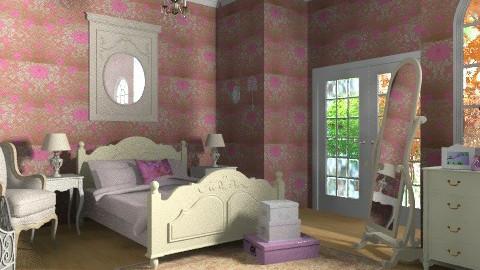 la chambre de ma soeur - Vintage - Bedroom  - by chloedaniella