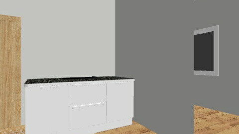 Clean Room Laboratory - Minimal - Kitchen  - by Lael McAuliffe