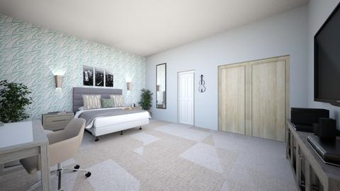 Bedroom - Minimal - Bedroom  - by natalieeeee