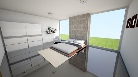 Simple bedroom - Minimal - Bedroom  - by Peter Reyneke