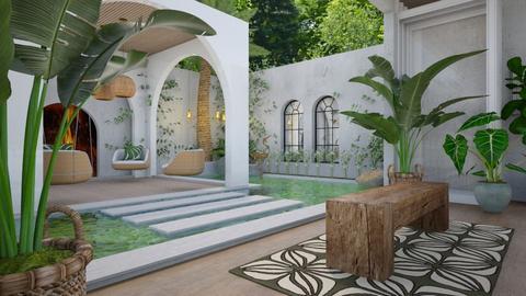 Secret Garden 1 - Garden  - by Fofinha