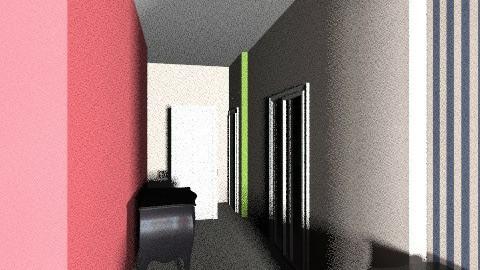 armadio corridoio con cuc - Classic - Kitchen  - by favaloro_bianca