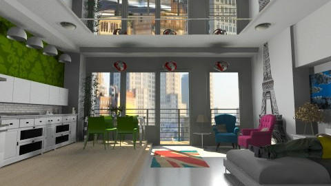Louis the Intern - Modern - Living room  - by yourjieee
