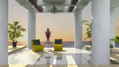 beachy deck - Classic - Garden  - by 2f5fe43g