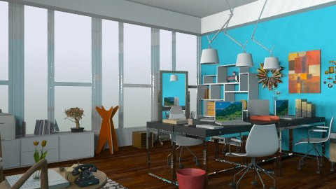 Abstract Studio! - Eclectic - by Everton Brolesi