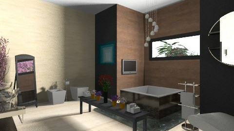 luxury bathroom - Modern - Bathroom - by dungtran