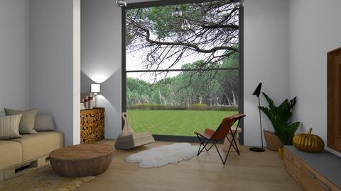 12 - Minimal - Living room  - by Gabylez