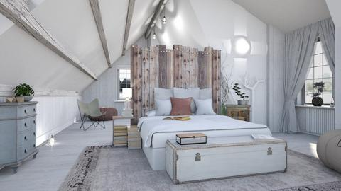 Attic Bed - Eclectic - Bedroom - by evahassing