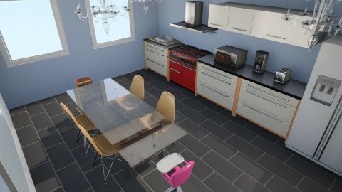 room4 - Classic - Kitchen  - by lululily776