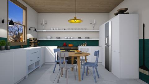Cute Kitchen - Modern - Kitchen  - by 3rdfloor