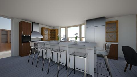 Moon Family Kitchen - Classic - Kitchen  - by mmitchell123