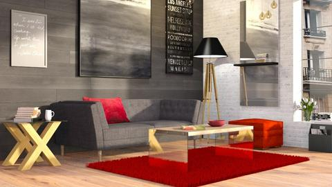 The Perfect Rug - Eclectic - Living room  - by Sally Simpson
