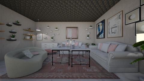 dnevna - Feminine - Living room  - by summeja