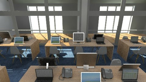 Luxury Office - Modern - Office  - by camilla_saurus