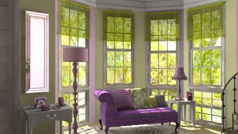 Purple rain - Classic - Living room  - by Laurika