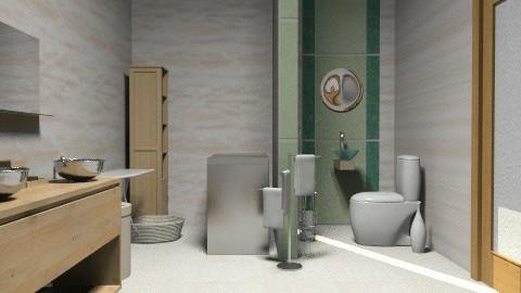 bathroom - Minimal - Bathroom  - by annikas