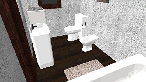 Rustic bathroom - Rustic - Bathroom  - by DoraL