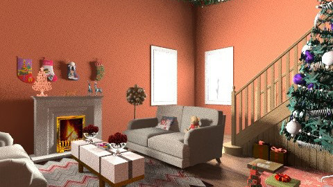 Christmas - Classic - Living room  - by mpy1999