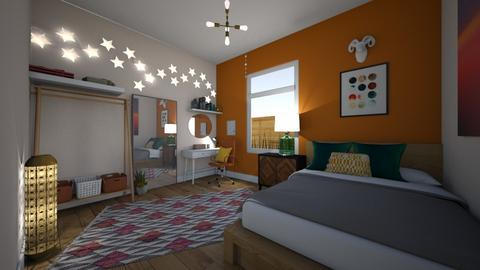 kays room - Eclectic - Bedroom  - by kat1016