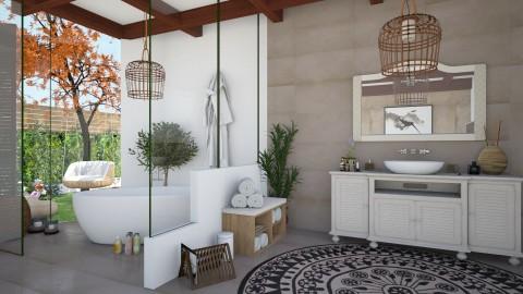 Cozy Bath - Bathroom  - by soniagoncalves