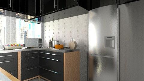 apt sp kitchen  - Classic - Kitchen  - by Maria_Julia