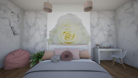 Soft Rose - Bedroom  - by IcyRosyRake