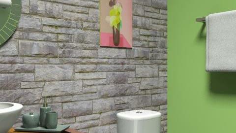 Zen - Eclectic - Bathroom  - by purplefan5