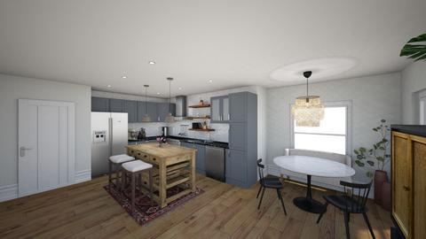 Kitchen comfort view 3 - Kitchen  - by LadyRudolph