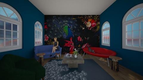 For Noa Jones - Living room  - by MWB08