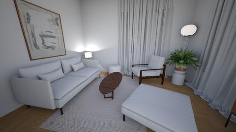 Living room small rug bot - Living room  - by MarikaMV