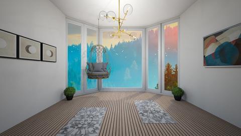 Yoga Room - by Skwood