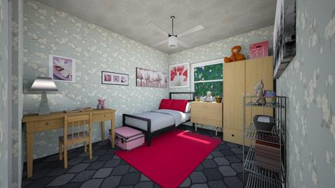 Varok female - Bedroom - by scourgethekid