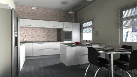 kitchen diner  - Minimal - Kitchen  - by bethcot