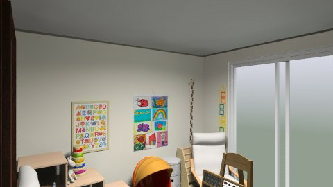 Playroom - Retro - Kids room  - by lauralouisebrown