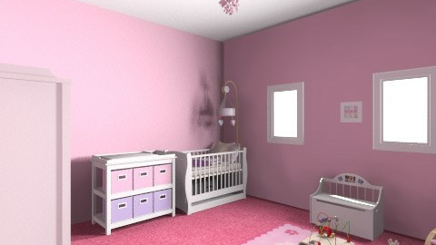 baby girl room - Modern - Kids room  - by madalice