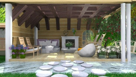 Patio - Country - Garden - by Your well wisher