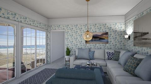 west coast cottage - Living room  - by steker2344