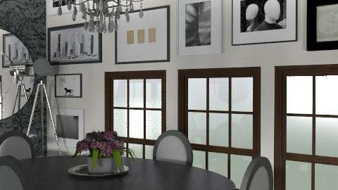 GlamourDining - Glamour - Dining room  - by camilla_saurus