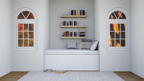 Book Lovers Nook - Bedroom  - by ZolaKate