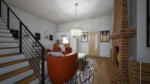 small house - Living room  - by JR4287