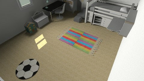 Assignment Room - Modern - Kids room  - by xXdesignerXx