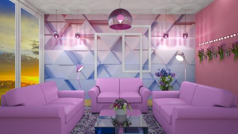Seventeen Kpop - Living room  - by Jane Diane
