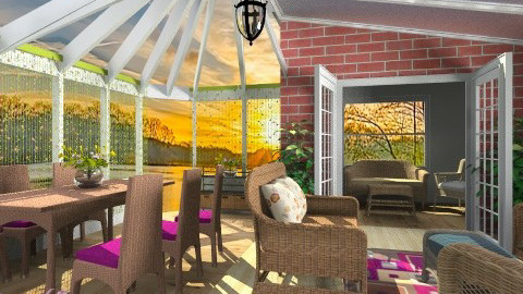 Outdoor Gathering - Modern - Garden  - by Bibiche