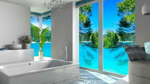 kkk - Modern - Bathroom  - by Cejovic Andrijana