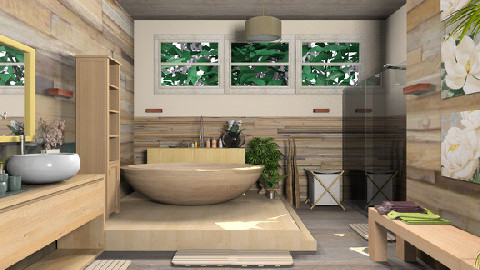 Wdbath_kittifarkas_print - Country - Bathroom  - by TV Renders