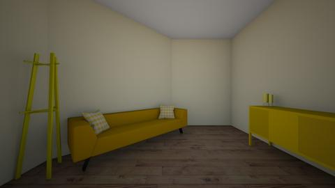 yellow room - Living room  - by taylorrkelsoo